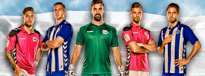 camiseta de Alaves