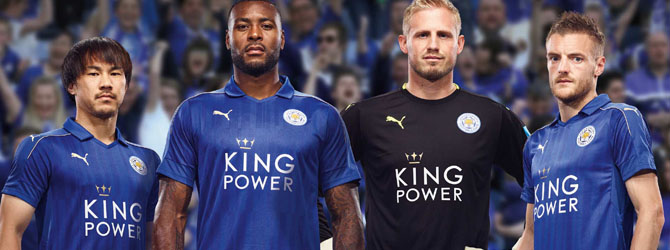 camiseta de Leicester City