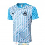 Camiseta Olympique Marseille Training Blue White 2020/2021