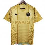 Camiseta PSG Training Gold Pattern 2020/2021