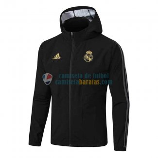 Real Madrid Chaqueta Rompevientos Black 2019-2020