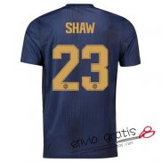 Camiseta Manchester United Tercera Equipacion 23#SHAW Cup 2018-2019