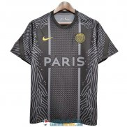 Camiseta PSG Training Black Pattern 2020/2021