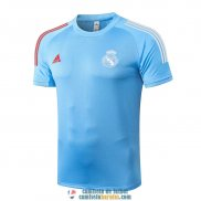 Camiseta Real Madrid Training Blue 2020/2021