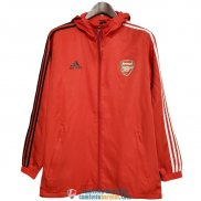 Arsenal Chaqueta Rompevientos Red Black 2020/2021