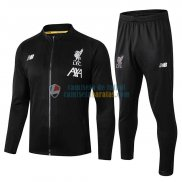 Liverpool Chaqueta Black White + Pantalon 2019-2020