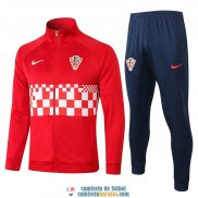 Croacia Chaqueta Red + Pantalon 2020/2021