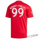 Camiseta New York Red Bulls Segunda Equipacion 99#WRIGHT PHILLIPS 2018