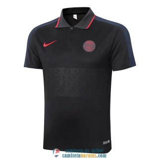 Camiseta PSG Polo Black 2020/2021