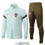 Portugal Chaqueta Green II + Pantalon 2020/2021