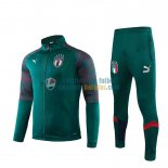 Italia Chaqueta Green Red + Pantalon 2019-2020