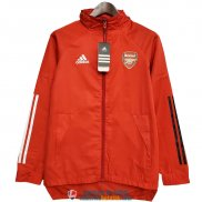 Arsenal Chaqueta Rompevientos Red 2020/2021