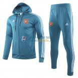 Arsenal Chaqueta Capucha Blue + Pantalon 2019-2020