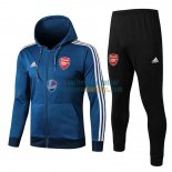 Arsenal Chaqueta Capucha Blue White + Pantalon 2019-2020