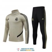 Real Madrid Sudadera De Entrenamiento High Collar + Pantalon 2019/2020