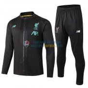 Liverpool Chaqueta Black Blue + Pantalon 2019-2020