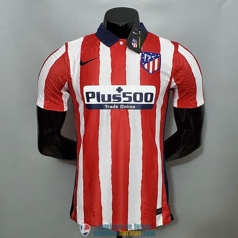 Camiseta Authentic Atletico De Madrid Primera Equipacion 2020/2021 - camisetabaratas.com