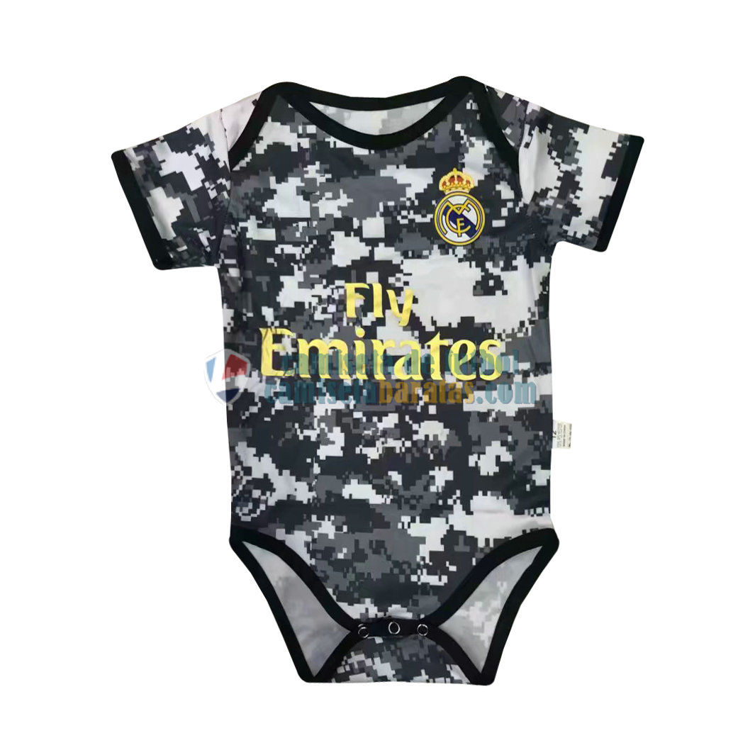 Camiseta Real Madrid Bebe Camouflage 2019-2020